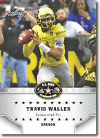 "TRAVIS WALLER 2015 LEAF ""1ST EVER PRINTED"" HIGH SCHOOL ARMY ROOKIE CARD!"