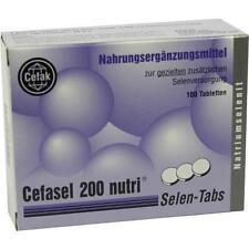 CEFASEL 200 NUTRI SELEN TABLETTEN 100ST 2330807