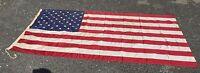 Très Grand Ancien Drapeaux Des États Unis D'Amérique / USA 50 Étoiles