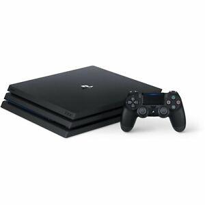 Brand New Sony PlayStation 4 Pro 1TB Console PS4 Black - NIB - SEALED
