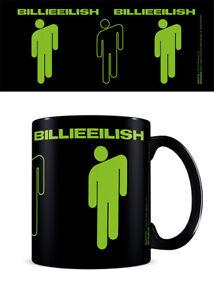 Boxed Mug Ceramic Gift Box - Billie Eilish STICKMAN - Black Mug 25795
