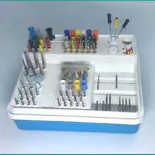 Dental Endodontics Endo Box For RA FG HP CARBIDE/DIAMOND BURS Organizer Autoclav