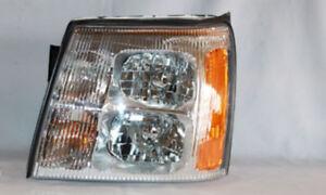 Headlight Assembly Left TYC 20-6710-00