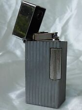 Vintage Parker / Dunhill  Chromium Plated No 125 Table Cigar Cigarette Lighter