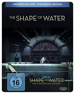 Shape of Water: Das Flüstern des Wassers [Blu-ray Steelbook /NEU/OVP] G.del Toro