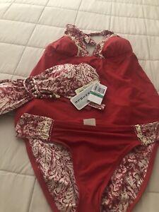 lucky brand 3 Piece Swimsuit Set sz. L -M