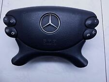 2004 MERCEDES-BENZ CLK 320 OEM LEFT DRIVER SIDE STEERING WHEEL AIRBAG AIR BAG