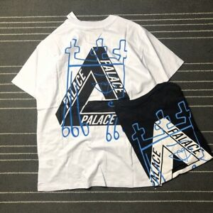 PALACE 20ss T-shirt Brand New Summer Triangle Style Street Hip-hop Loose Tee