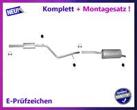 Auspuffanlage Dacia & Renault Logan MCV 1.4 1.6 Kombi Auspuff Montagesatz