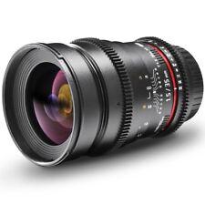 walimex pro 35/1,5 Weitwinkel Objektiv VDSLR für Nikon F, schwarz