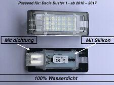 2x TOP LED SMD Kennzeichenbeleuchtung für Dacia Duster 1 ab 2010 – 2017 (504)