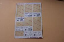 XC 1 planche 7 ex étiquette numeroté Miniatures Château FERRARI 315 S 1957 Heco