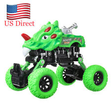 Green Dinosaur Pull Back Car Plastic Toys Children's Indoor Toys