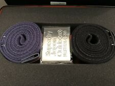 Superdry Knox Belt Double Pack - Black/Navy BNWT