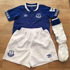 UMBRO Everton FC 2018-19 Football Kids Home Kit Size 4-5 Years, Blue / White