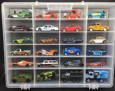 HotWheels Loose 24 Car Lot Real Riders Volkswagen Bug Caddy Nissan Skyline GTR