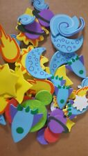 Foam Stickers Space Shapes 50 Pieces star planet moon Brand: Otc