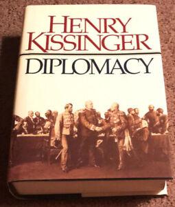SIGNED Diplomacy by Henry Kissinger Autographed JSA COA