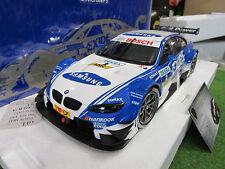 BMW M3 DTM RMG 2012 HAND 1/18 MINICHAMPS 100122202 voiture miniature collection