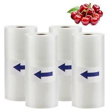 4 Roll 8X50 Vacuum Sealer Bags Rolls 4Mil Embossed FoodSaver Vacuum Storage Bags