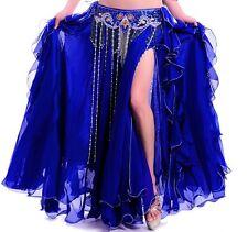 C300 Costume Danse Orientale Jupe danse du ventre Flamenco BELLY DANCE SKIRT