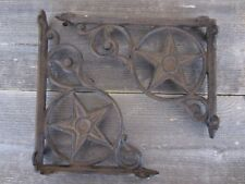 12 Cast Iron Antique Star Brackets Garden Braces Shelf Bracket Rustic Corbels