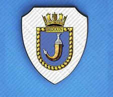 HMS BEDOUIN WALL SHIELD