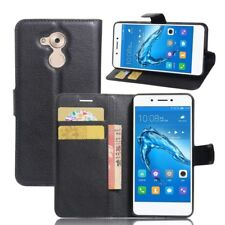 Cover Wallet Premium Black for Huawei Honor 6C Case Cover Pouch Protective