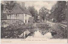 Newtown Water & Swan Inn, Newbury, F.G.O. Stuart 260 Postcard B814