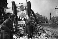 7x5 Lucido Foto ww3D10 Guerra Mondiale 2 Germania Berlino 47