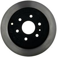 Disc Brake Rotor-Black Hat Rear ACDelco Pro Brakes 18A2543