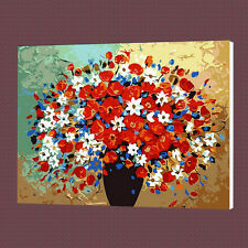 Flower Vase Paint By Number Kits On Canvas DIY Digital Oil Painting Home Decor