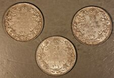 1917,'18,'19 Canada Quarters Silver Set of 3 High Grade ** FREE U.S. SHIPPING **
