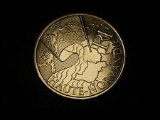 TRES  BELLE PIECE DE  10 EUROS DES REGONS 2010 HAUTE NORMANDIE