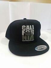 CALIFORNIA REPUBLIC CALI BEAR FLAT BILL SNAPBACK BASEBALL CAP HAT NWT Big BEAR