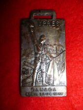 Canadian Ypres April 1915 Battlefield Souvenier Key Fob