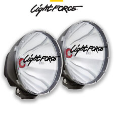 LIGHTFORCE 240 XGT HID 50 WATT PAIR DL240XGT50 GENUINE DRIVING LAMPS LIGHTS 50W