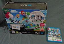 NINTENDO Wii U Mario & Luigi Premium Pack 32GB console BOXED + New Super Mario