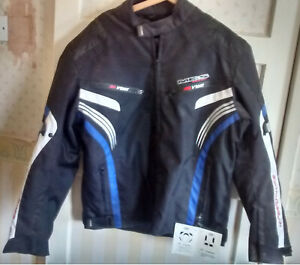 MBS   textile motorcycle jacket     size 2XL   NEW with TAGS    48/50 inch chest