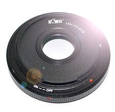 Adapter FD Objektive an CANON EOS EF Kameras Objektivadapter mit Ausgleichslinse