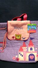 """MAYAH"" NAME Stephen Joseph QUILTED BACKPACK NWT PURPLE PALACE new"