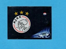 PANINI-CHAMPIONS 2012-2013-Figurina n.264- SCUDETTO/BADGE - AJAX -NEW BLACK