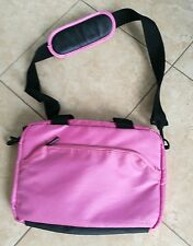Pink logik laptop/ipad/computer gadgets travel bag
