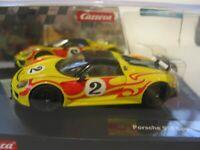CARRERA 20027599 PORSCHE 918 SPYDER  BNIB SCALEXTRIC COMPATIBLE