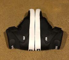 Supra Kids Vaider Size 4.5 Youth Black Herringbone BMX DC Skate Shoes Sneakers