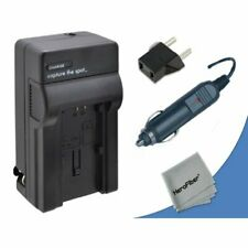 High Speed Quick AC/DC Charger Kit for Nikon D600 DSLR Camera with Car Charger