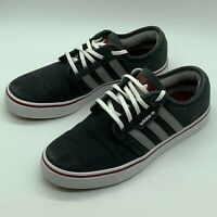 Adidas Mens Gazelle Trainers Black Grey White UK 5 EUR 38 US 5.5 Casual Shoes