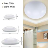Modern Bedroom Round LED Ceiling Light 20W 30W 40W Room Surface Mount Fixture GA