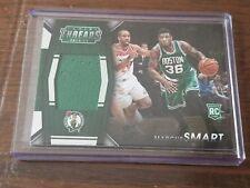 2014-15 Panini Threads Rookie Jumbo Materials Marcus Smart Boston Celtics RC