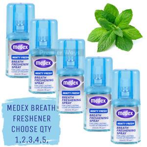 MEDEX BREATH FRESHENER MOUTH SPRAY LONG LASTING MINT FRESH MINTY